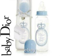 100%AUTHENTIC Exclusive LARGE GLASS DIOR Baby BOY CROWN BOTTLE WORLDWIDE SELLOUT