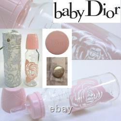 100% AUTHENTIC Exclusive LARGE GLASS DIOR Baby PRINCESS BOTTLE WORLDWIDE SELLOUT