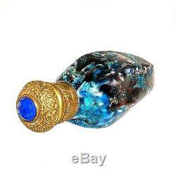 (1785) Large venetian glass perfume bottle end of 19th century