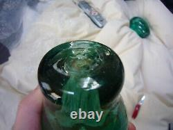 Antique Victorian Bottle Dump Paperweight (Large Flower With3 Small Flowers) (5)