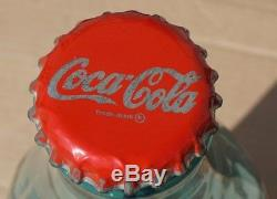 Coca Cola Large Glass Display Bottle Super Rare 23 Tall