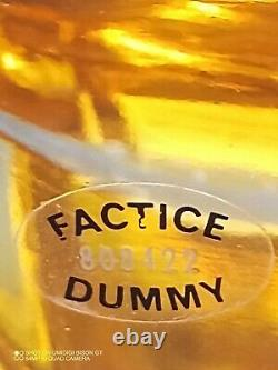 Ex Large Factice Givenchy Paris Display Glass Perfume Bottle 19 3/4 Tal