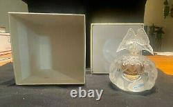 LALIQUE Perfume Bottle (full) 2003 Limited Edition Butterfly LARGE SIZE #12