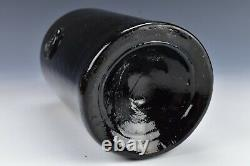 Large 18th Century Blown Glass English Magnum DRL Seal Bottle