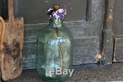 Large Clear Glass Jar Farmhouse Glass Vase Old Fashioned Apothecary Glass Jar