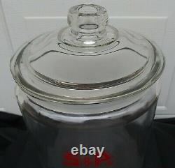 Large General Store Glass Jar S&P Swinson Food Products Charlotte NC