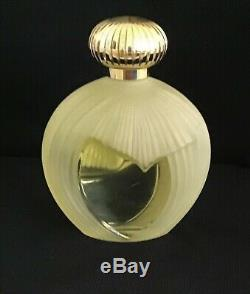 Nina Ricci Perfume Factice Large 7.25 French Lalique Glass Display Bottle