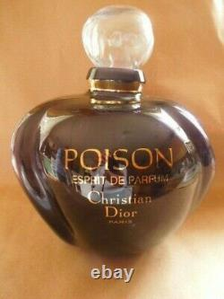 Poison Christian Dior Paris Ex Large Tall Factice Display Glass Perfume Bottle