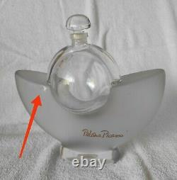 Rare Large 9 matte glass Factice Paloma Picasso Dummy display Perfume bottle