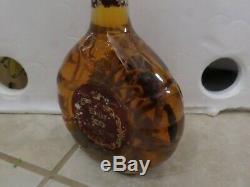Real cobra snake and a scorpion in a large glass bottle 9 tall