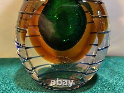Stunning Large Sommerso Murano Perfume Bottle (See Pictures)