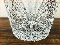 Vintage Extra Large Cut Glass Wine Cooler Three 3 Bottle Champagne Ice Bucket
